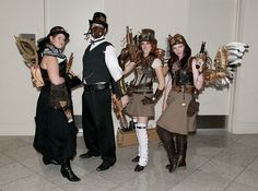 An assortment of Steampunk wings by Stephen Lesnik, via Flickr