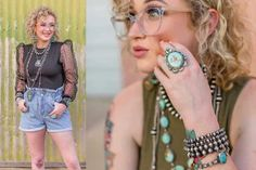 Check out the Katie Looney Collection With Turquoise & Co.!