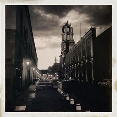 Night time in Queretaro. No hashtags today.