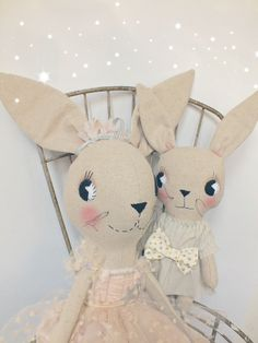 limited edition tulle rosa & little ruby rabbit