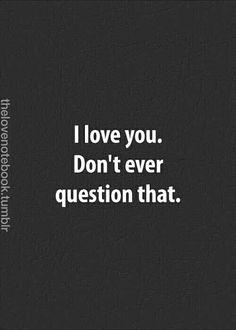 Te Amo, Mi Amor! ♥