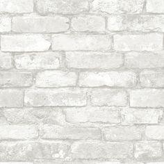 NuWallpaper 5.5m L x 52cm W Brick, Wood and Stone Roll Wallpaper & Reviews | Wayfair UK
