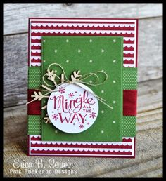 Pink Buckaroo Designs: Fancy Friday- Trim the Tree and Mingle All The Way by shawna