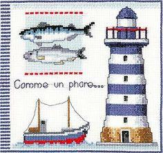 Lighthouse Sampler Cross Stitch Kit by Vervaco