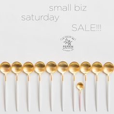 """Make a big impact and shop small this Saturday (and Sunday!) Our sale continues through the weekend with 20% off AND free shipping on ALL #shopcdp orders: use code """"SMALLBIZ20"""" at checkout. Happy shopping!"""