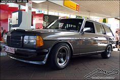 Mercedes Benz W123 AMG Wagon by retromotoring, via Flickr