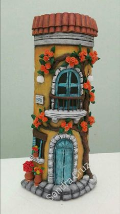 Play Clay, Mehndi Designs, Snow Globes, Stove, Ceramic Tile Art, Build Your Own, Felt, Frames, Tiles Miniature Crafts, Miniature Houses, Mehndi Designs, Ceramic Tile Art, Clay Jar, Doll House Crafts, Play Clay, Family Crafts, Build Your Own