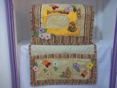 peça confeccionada em tecido 100% algodão, bordada em patchcolagem quiltado e forrada, pode ser variados o desenho e as cores.