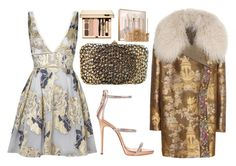 """♡"" by iojikxamiak ❤ liked on Polyvore featuring Notte by Marchesa, Giuseppe Zanotti, Valentino, Sephora Collection and Etro"