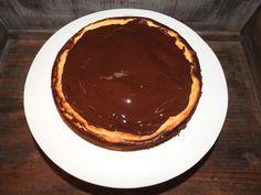 Cheesecake with dark chocolate - glutenfree - tinaliestvor