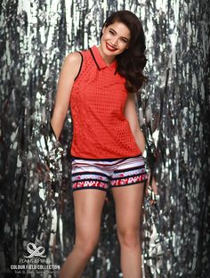 Lookbook - Plains and Prints Short Outfits, Casual Outfits, Simple Ootd, Shorts, Prints, Tops, Holiday, Women, Fashion
