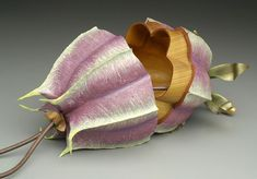 So cool.  Polymer clay evening bags by Kathleen Dustin.