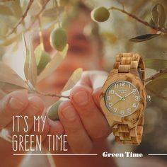 Il fascino di un simbolo eterno, sempre con te. #GreenTime #MyGreenTime