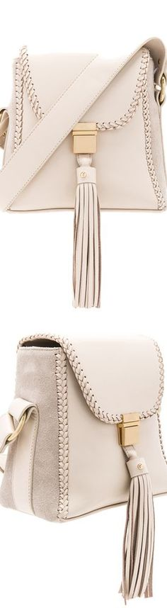 SANCIA THE MILLA BRAID BAG IN ECRU