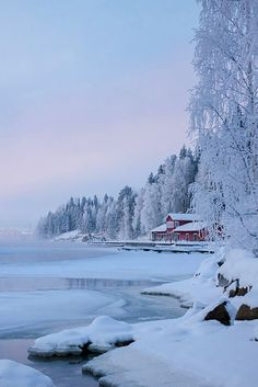 Winter in Kajaani, Finland (repinned by https://www.fujidirekt.de/panorama-poster-bestellen )