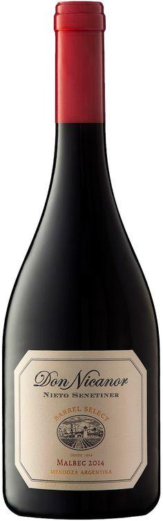 """Don Nicanor Barrel Select"" Malbec 2014 - Bodega Nieto Senetiner, Luján de Cuyo, Mendoza---------------Terroir: Valle de Uco"