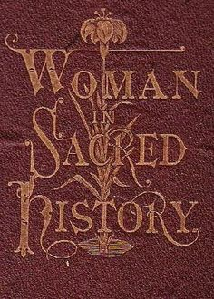book cover of   Woman in Sacred History