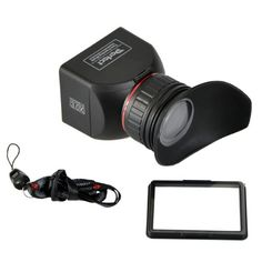 GGS Perfect Foldable LCD Viewfinder for Canon, Nikon, Sony and Other DSLR Cameras (ggs3.0x LCDVF) $65.00