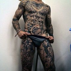 70 Perfect Full Body Tattoo Ideas – Turning the Human Body into a ...