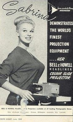 """...finest projection equipment...."" WOW."