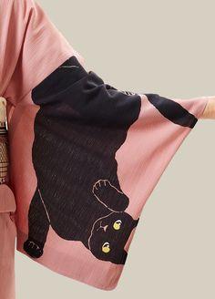 着物の袖。 日本。 もっと見る