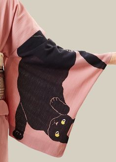 Kimono sleeve. Japan.