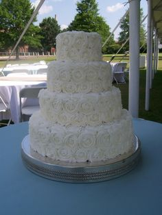 I believe this is going to be our wedding cake.