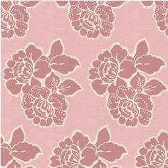 Stamped Florals Fabric, Sherbert Sorbet Vanilla