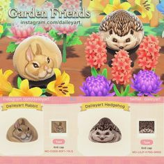 Animal Crossing Wild World, Animal Crossing Guide, Animal Crossing Qr Codes Clothes, Cabello Animal Crossing, Rabbit Colors, Motifs Animal, Animal Patterns, Animal Games, New Leaf