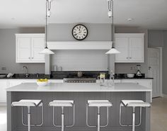 Classic grey and white kitchen, these guys get country / modern kitchens perfect everytime!