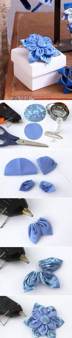 Diy Beautiful Blue Flower | DIY & Crafts Tutorials