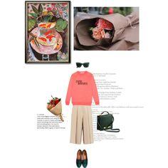 culottes Fashion Set Outfit Idea 2017