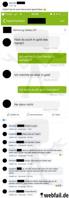 Beziehungskiller Kleinanzeigen - Facebook Fail des Tages 28.07.2018 | Webfail - Fail Bilder und Fail Videos Epic Fail Pictures, Funny Pictures, Facebook Fail Des Tages, Funny Instagram Posts, Best Brains, Facebook Humor, Fail Video, Funny Stories, Do Everything