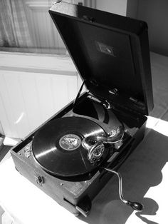 78 rpm records & record player