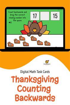 Thanksgiving Counting Backwards