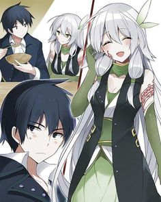Glenn Radars and Sara - Light Novel or Manga : Rokudenashi Majutsu Koushi to Akashic Records (Rokuaka)