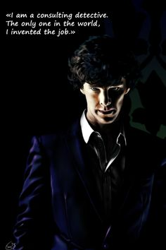 """mxpublishing: """"  By ea-love.tumblr.com as featured in The Art Of Deduction by Hannah Rogers. Coming soon 'A Guide To Deduction' """""""