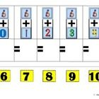 Five vertical single digit addition math problems per page. Touchpoints are provided on all single digit numbers. Fact groupings and 0 are. Math Addition, Addition And Subtraction, Educational Activities, Math Activities, Autism Resources, Classroom Resources, Classroom Ideas, Fun Math, Kids Math