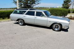Look at this 1967 Buick GS Sport wagon loaded with Buicks full option package including Factory AC power windows power seats tilt wheel rosewood 3 spoke. Station Wagons For Sale, Station Wagon Cars, Buick Wagon, Buick Cars, Classic Cars Usa, Buick Models, Dodge Muscle Cars, Sports Wagon, Abandoned Cars