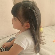 Top 100 toddler hairstyles photos She's only 2 - yet she's made so many of my dreams come true - like having hair to play with ... and that she doesn't mind me doing it!  #momlife #longhair #toddlerhairstyles #toddler See more http://wumann.com/top-100-toddler-hairstyles-photos/