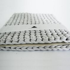 pochette ipad - tricot