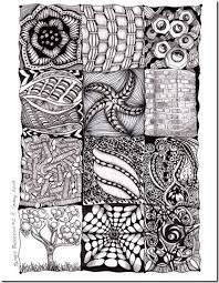Image result for zentangles patterns ideas