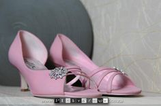 www.bestersbridalboutique.com Bridal Shoes, Pretty In Pink, Wedges, Fashion, Bride Shoes Flats, Moda, Bride Shoes, Fashion Styles, Fashion Illustrations