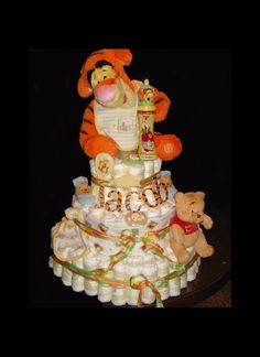 Themed Diaper Cakes