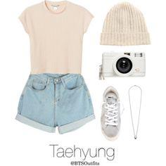 Disneyland with Taehyung