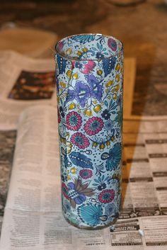 Mod Podge Vase