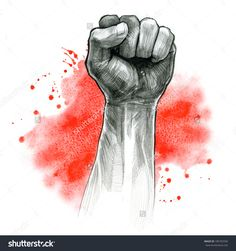 Find Fist Hand Gesture Pencil Drawing Watercolor stock images in HD and millions of other royalty-free stock photos, illustrations and vectors in the Shutterstock collection. Thousands of new, high-quality pictures added every day. Love Canvas Painting, Large Canvas Art, Pencil Drawings, Art Drawings, Hand Kunst, Sexy Black Art, Propaganda Art, Flash Art, Hand Art