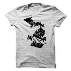 Michigan Grunge - Michigan grunge style. (Funny Tshirts)