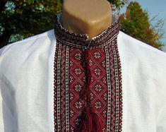 Fashion shirts men Linen shirt Custom tshirt Men designer clothes Long sleeve button down shirt Embroidered shirt Trend clothing
