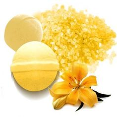 Tinte Amarillo Huevo de Sales y Bombas de Baño